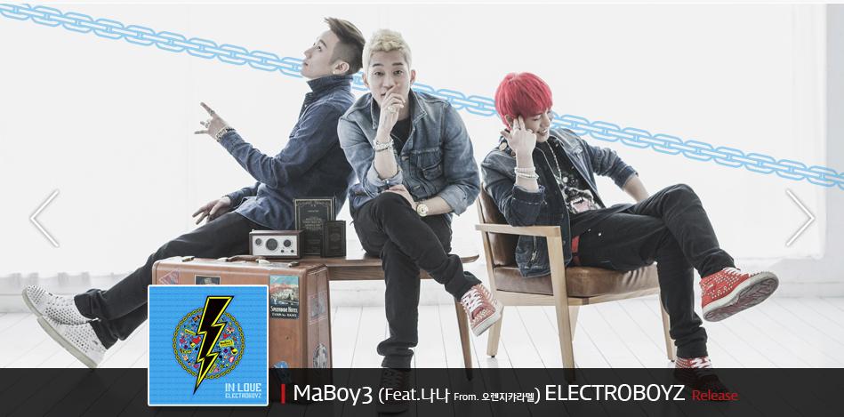 "Electroboyz Releases MV for ""Ma Boy 3"" Feat. After School's Nana"