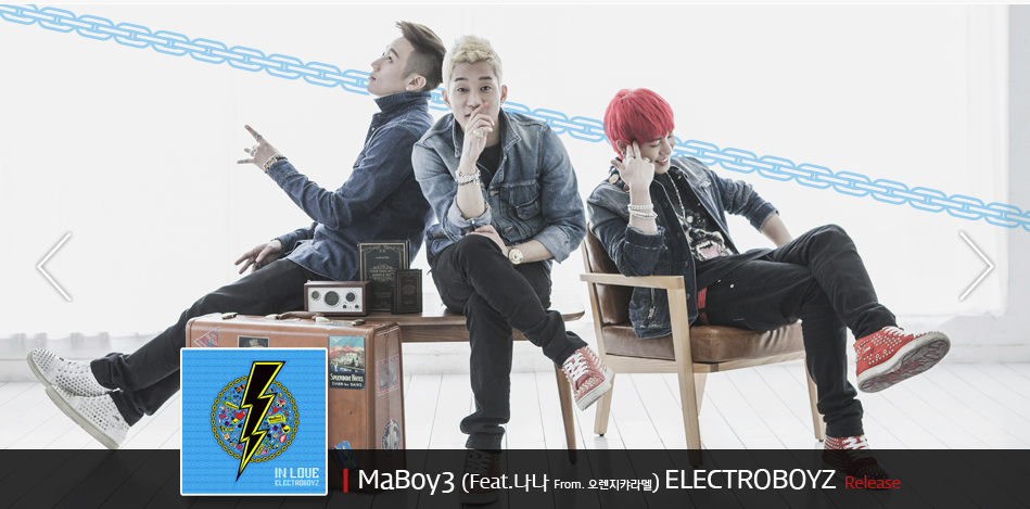 "Electroboyz Releases MV for ""Ma Boy 3"" Feat. After School's Nana"