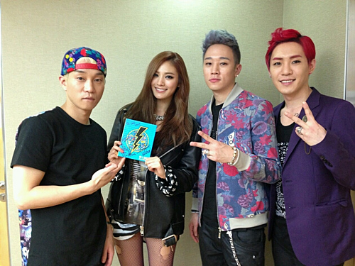 """After School's Nana Shows Support for Electroboyz and """"Ma Boy 3"""""""