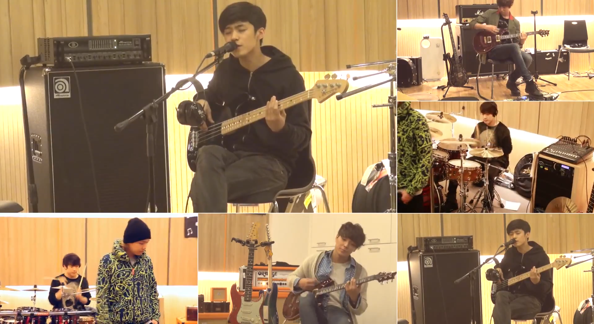 "F.T. Island Releases Live Band Practice Video for ""Life"""