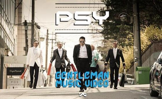 PSY's Gentleman MV Reaches 44.5 Million YouTube Views