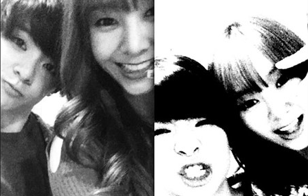 [SNS Pic] G.Na and Amber's Witty and Adorable Selcas