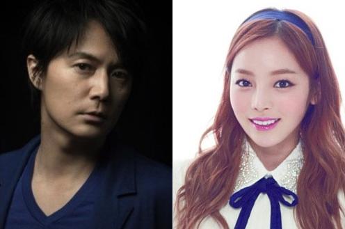 Goo Hara Forms Project Group With Masaharu Fukuyama for Japanese Drama OST