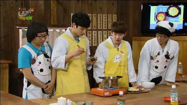 Yoo Jae Suk Praises 2AM's Special Ramyun