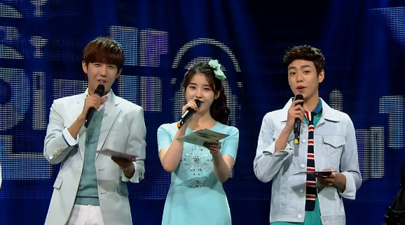 "SBS Inkigayo 04.14.13 – Lee Hi's ""Rose"" Takes First Win"
