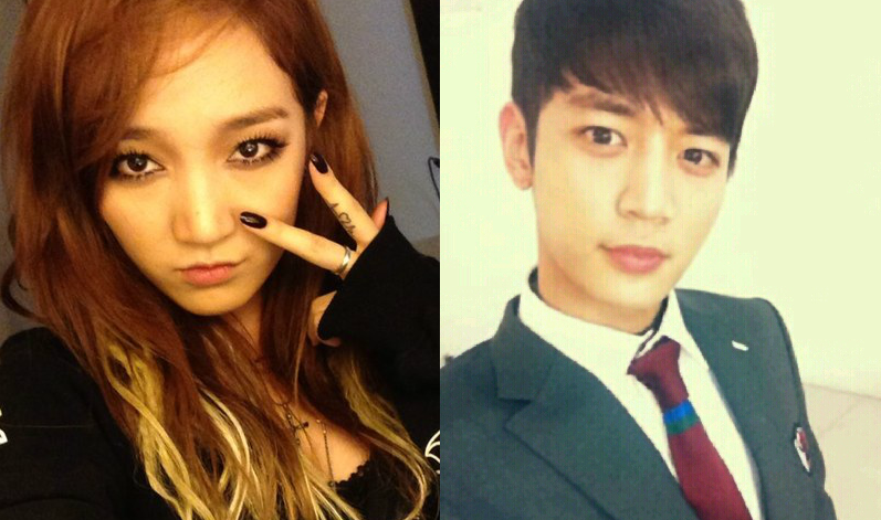 [SNS PIC] miss A's Jia Cutely Poses With SHINee's Minho