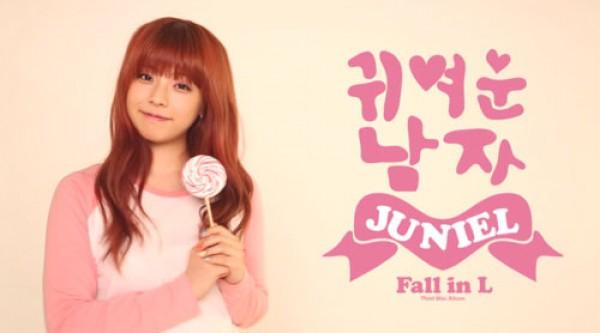 Juniel Visits University Campus to Promote Her Upcoming Mini Album