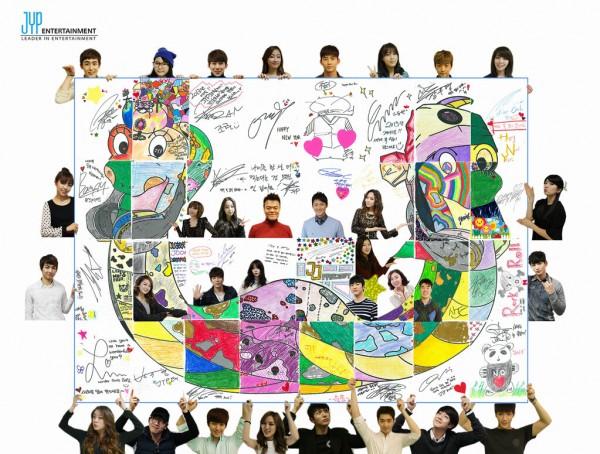 JYPE's Family-Like Atmosphere