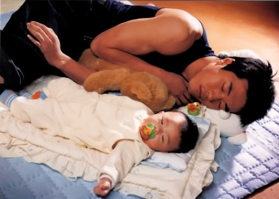 "Kwon Sang Woo's Son Luke Might Appear in ""Daddy, Where Are You Going?"""