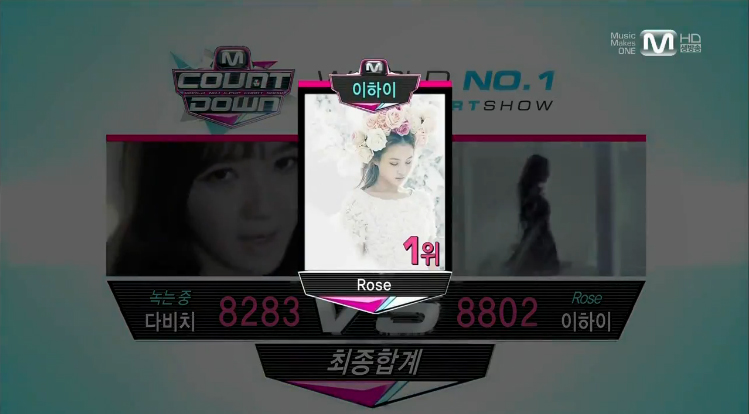 "Mnet M! Countdown 04.11.13 – Lee Hi's First Win with ""Rose"""