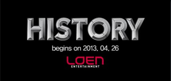 "IU Helps Promote New Loen Entertainment Boy Group ""History"""