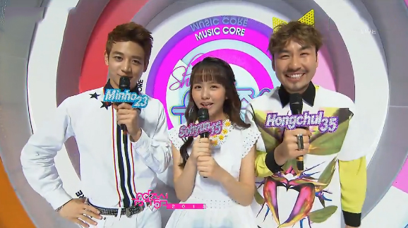 MBC Music Core 04.27.13 – Comeback Stages by SHINee, 4Minute & Juniel