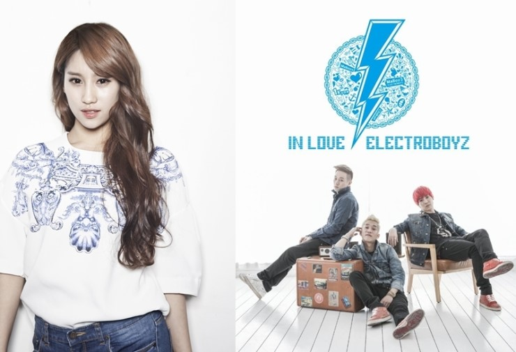 """Electroboyz and """"Birth of a Star"""" Park Soo Jin Release MV for """"Feeling Nervous"""""""