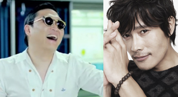 PSY Personally Invited Lee Byung Hun to Concert