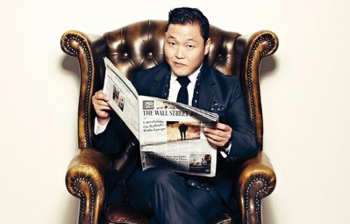 "PSY's ""Gentleman"" Confidently Tops Nine Online Music Charts"