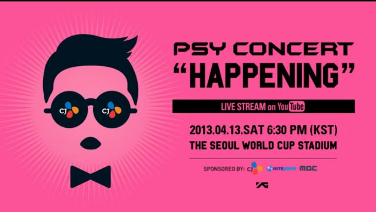 "PSY's ""Happening"" Concert – First Live Performance of ""Gentleman"""