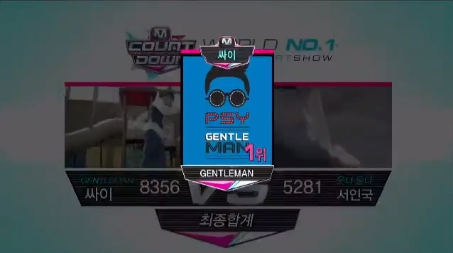 M!Countdown 04.25.13 Nihao Taiwan Special – PSY Wins