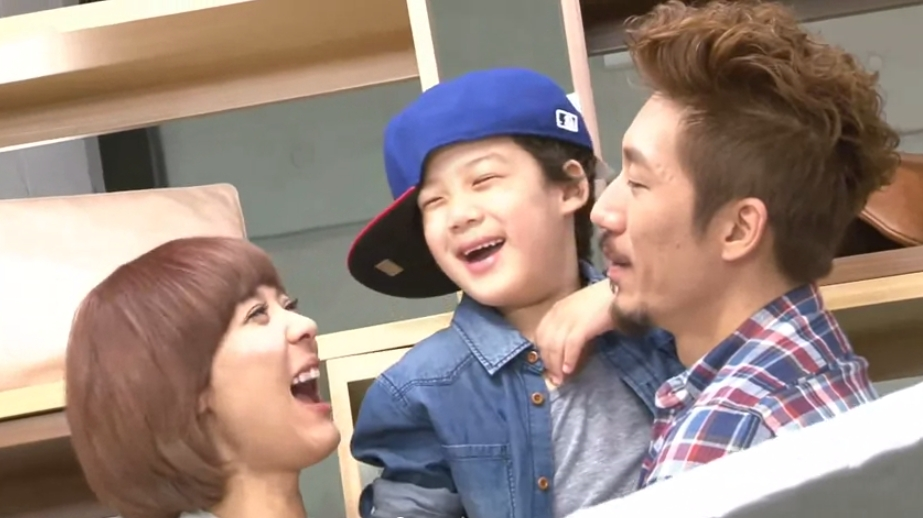 "Tiger JK, Yoon Mirae, and Their Son Jordan Meet ""Iron Man"" Robert Downey Jr."