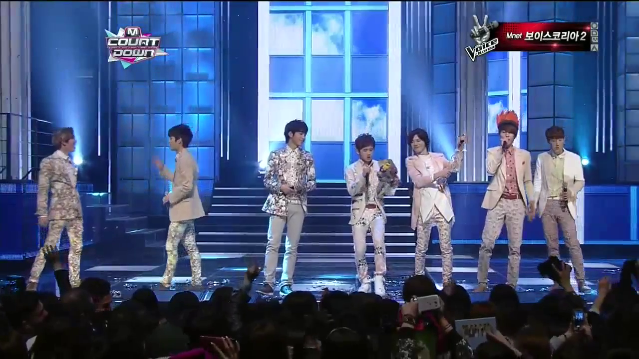 Mnet M! Countdown 04.04.13 – INFINITE's First Win!