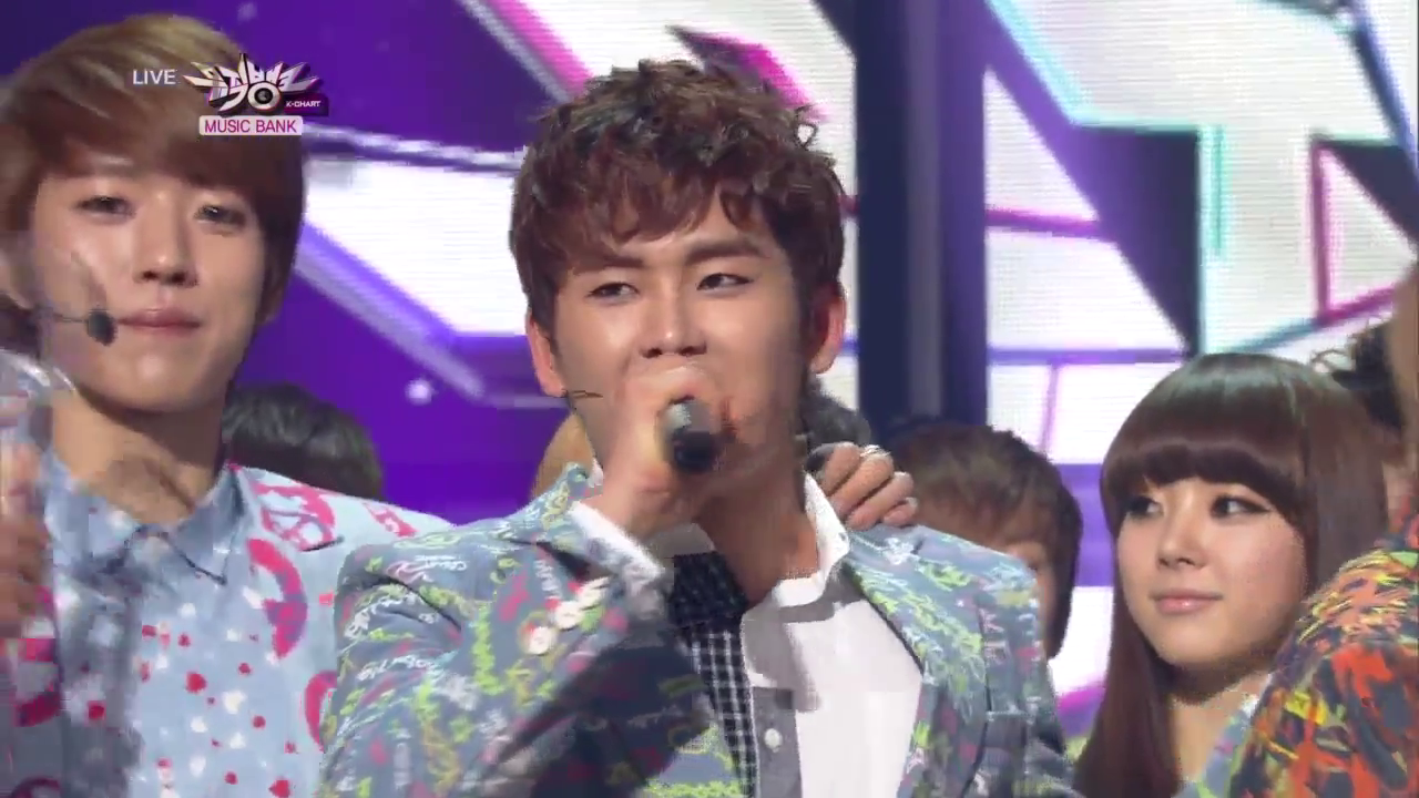 """KBS Music Bank 04.12.13 – INFINITE's Second Win with """"Man In Love""""!"""