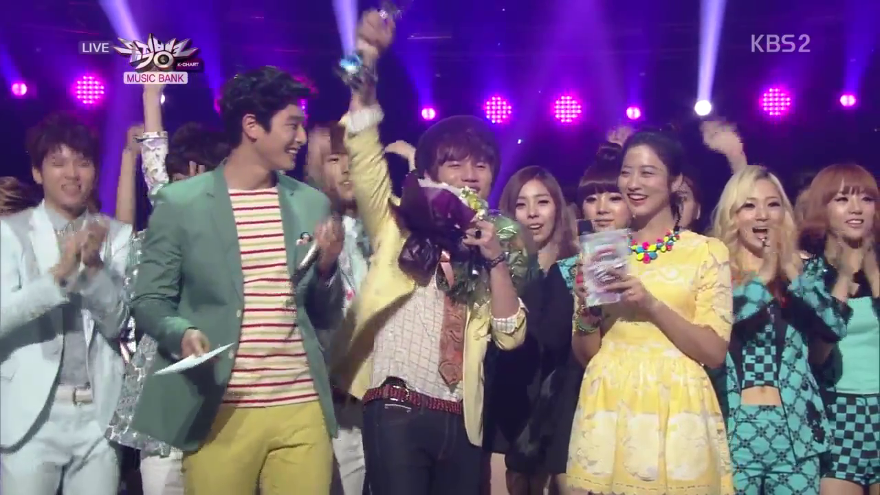 "KBS Music Bank 04.12.19 – K.Will's First Win with ""Love Blossom""!"