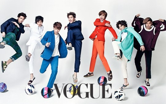 "INFINITE's Energetic and Charismatic Pictorial for ""Vogue Korea"" Revealed"