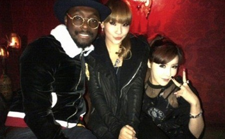 Will.I.Am Releases Track Featuring 2NE1's Park Bom and CL