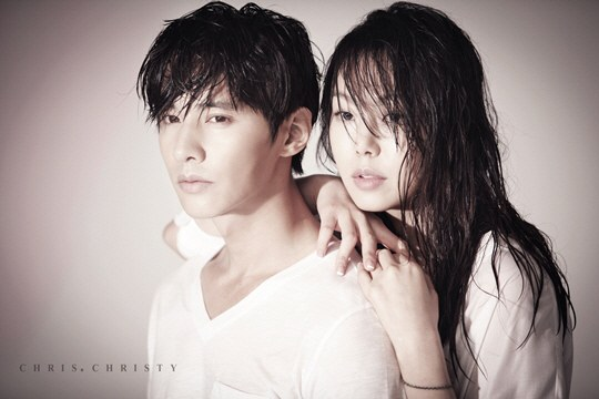 """Won Bin and Kim Min Hee Turn into Summer Lovers for """"Chris Christy"""""""