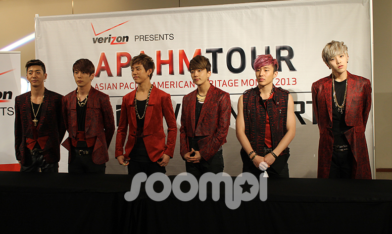 [Exclusive] B.A.P: Live On Earth Pre-Show Meetup And High-Touch Event