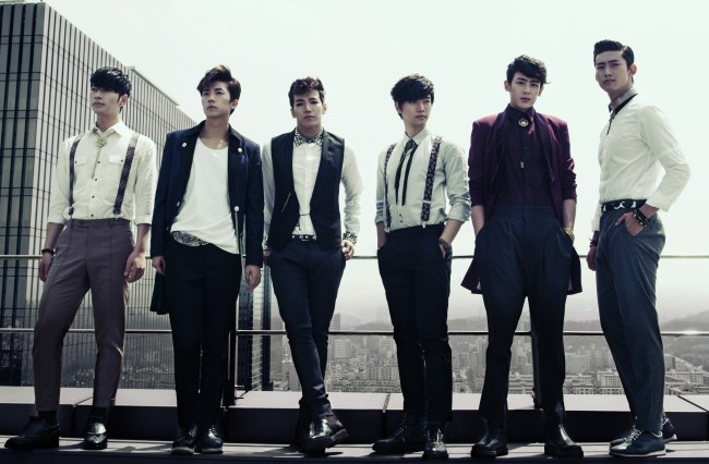 2PM is No.1 on iTunes Album Chart in Six Countries
