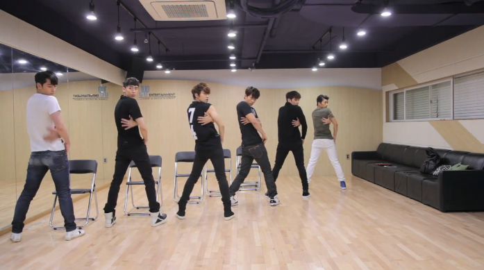 "2PM Reveals Dance Practice for ""All Day I Think of You"""