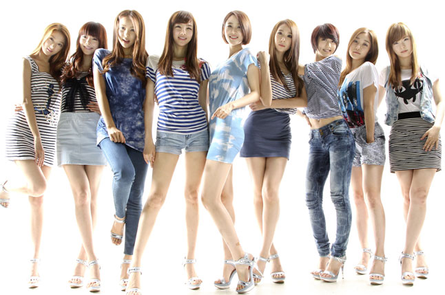 """9 Muses Forced to Change Costumes for """"Music Bank"""" Deemed Too Sexual"""