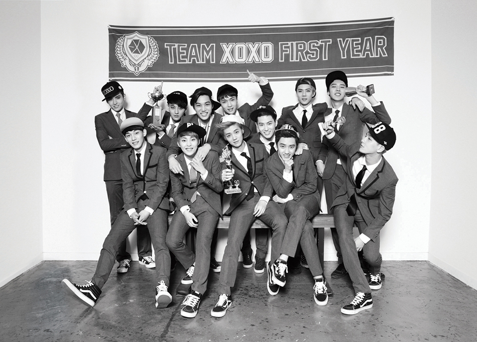 EXO Celebrates Win in Latest Teaser Photo