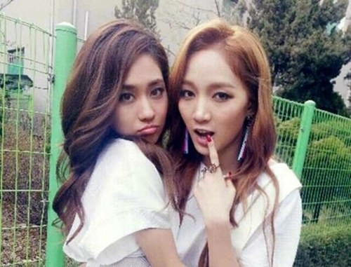 [SNS Pic] miss A's Jia and Fei Are Fated Friends