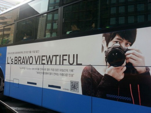 "Infinite L's Photo Essay ""L's Bravo Viewtiful"" Goes on Bestseller List"