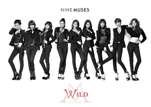 "Nine Muses Releases Comeback MV for ""Wild"""