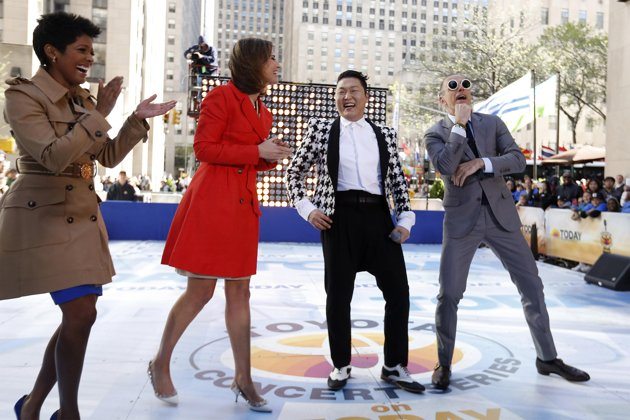 PSY Begins U.S. Promotions Starting With NBC Today Show