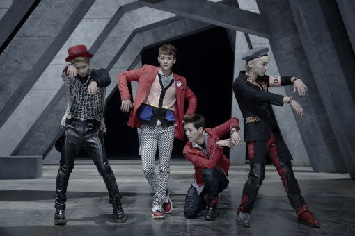 SHINee Tops Korean and Taiwanese Weekly Charts