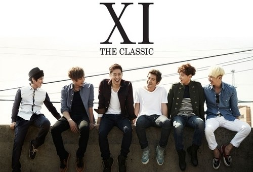 "Shinhwa Pre-Order Sales for Limited Edition of 11th Official Album ""The Classic"" Has Begun!"