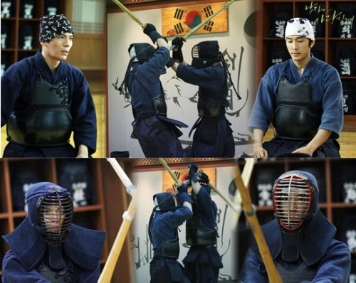 Stills of Song Seung Hun Looking Awesome in Kumdo Armor!
