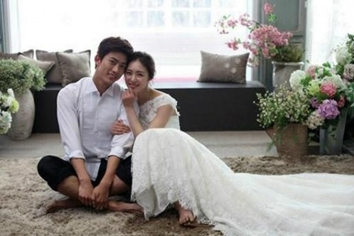 Lee Yeon Hee and 2PM's Taecyeon are Sweet Newly-weds