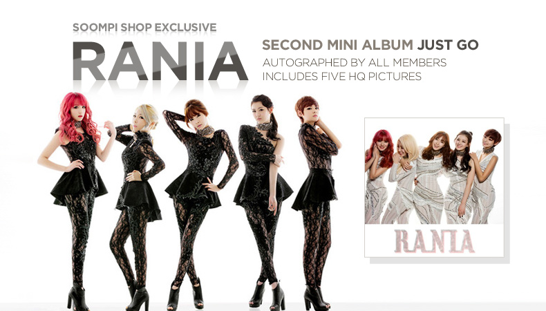 "[Soompi Shop] Autographed RaNia ""Just Go"" Special Package!"