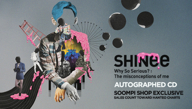 """[Soompi Shop] Autographed SHINee """"Why So Serious?: The Misconception of Me"""" Special!"""