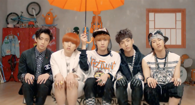 """B1A4 Releases Comic """"What's Happening?"""" Music Video"""