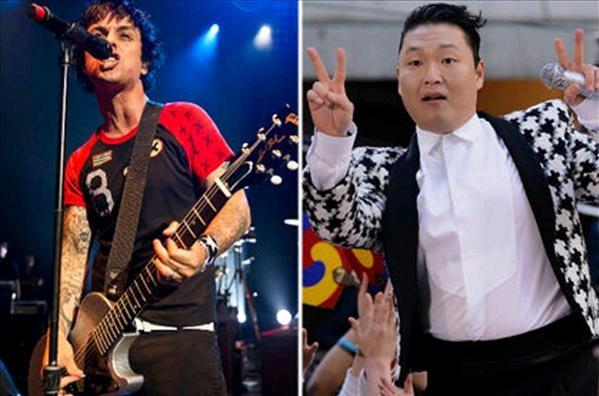"Green Day's Billie Joe Armstrong Calls PSY the ""Herpes of Music"""