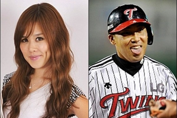 Singer Chae Rina and Baseball Player Park Yong Geun Are Dating