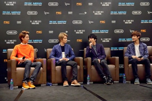 "CNBlue: ""We Want to Get Tattoos and Rebel, But Not Now"""
