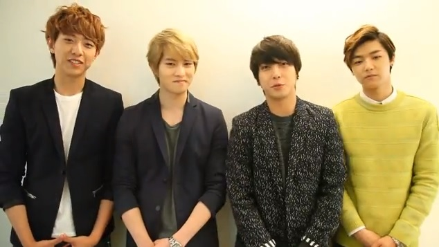 CNBlue Gives Video Message About Upcoming Concert