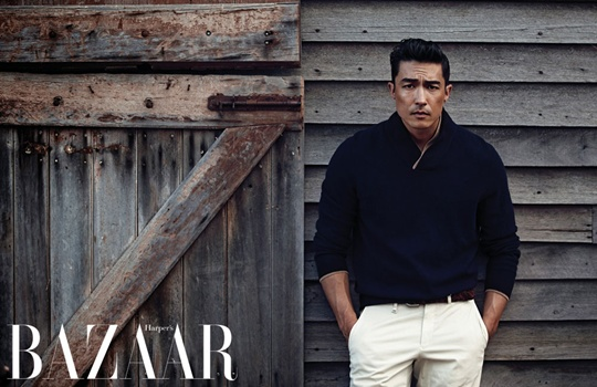 Daniel Henney is the Epitome of Man for Bazaar