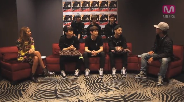 "Danny From LA Interviews B.A.P for ""Live on Earth Tour"""
